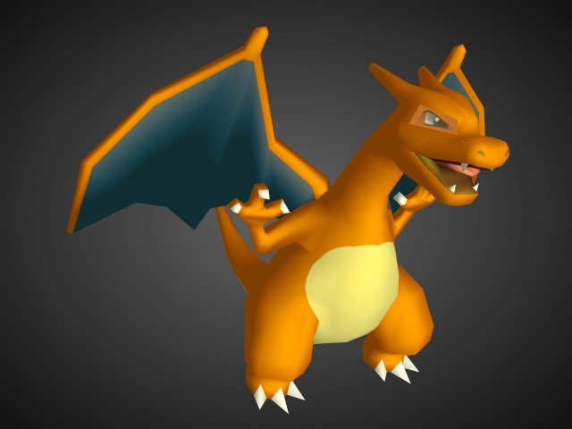 Charizard 3d models for free download free 3d - Pokemon 3d download ...