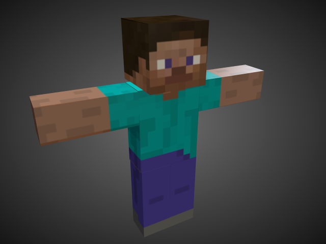 how to make 3d model ears for minecraft