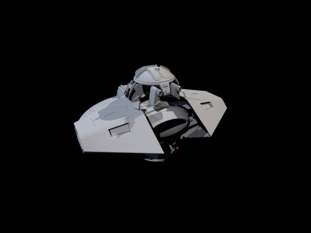 Spaceship 3D Models For Free